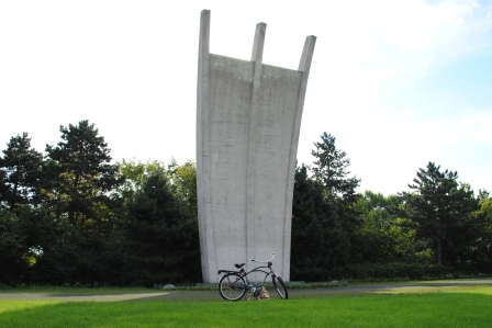 Memorial to the Berlin Airlift, 1948, Tempelhof