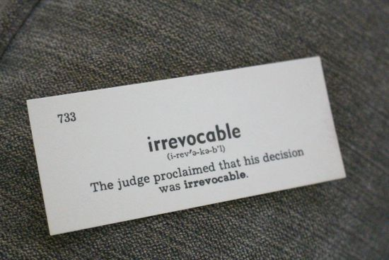 irrevocable-