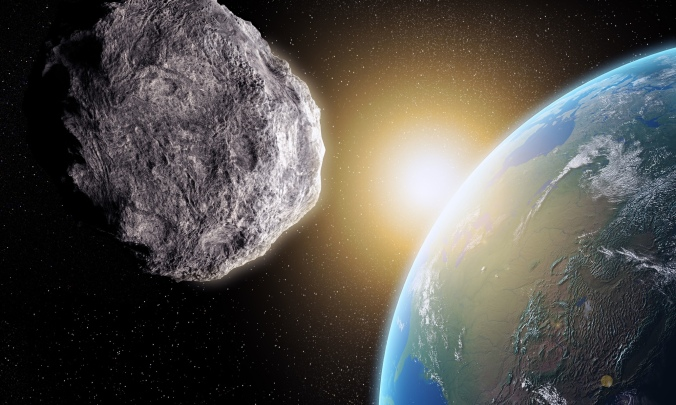 Large Asteroid closing in on Earth